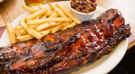 Adams Ribs Whole Rack Platter
