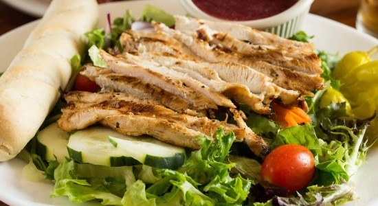 Adam's Grilled Chicken Breast Salad