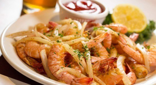 Adams Grille and Taphouse Edgewater Steamed Shrimp