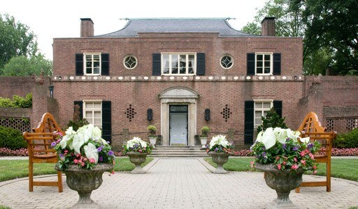 Rustic Wedding Locations - Newton White Mansion