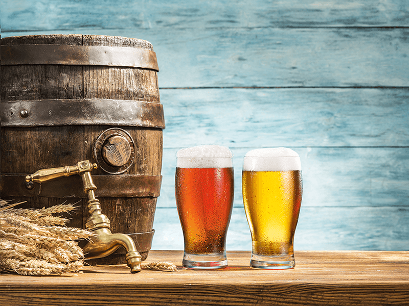 Popular craft beers and ales