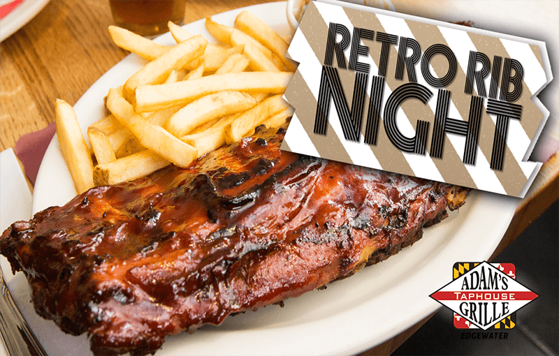 Retro Rib Night